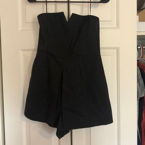 Urban outfitters black romper size small